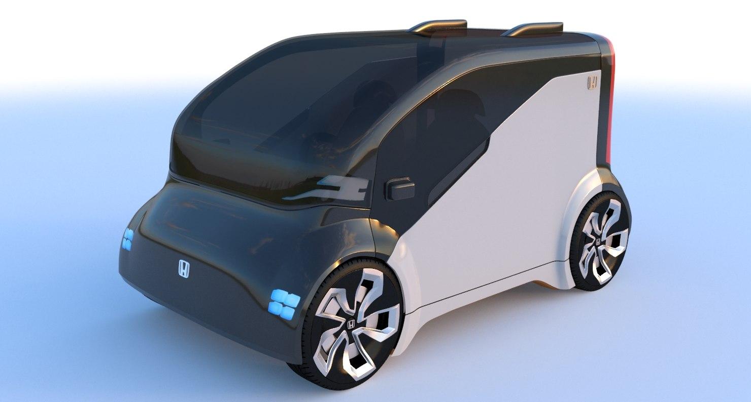 3D neuv car model