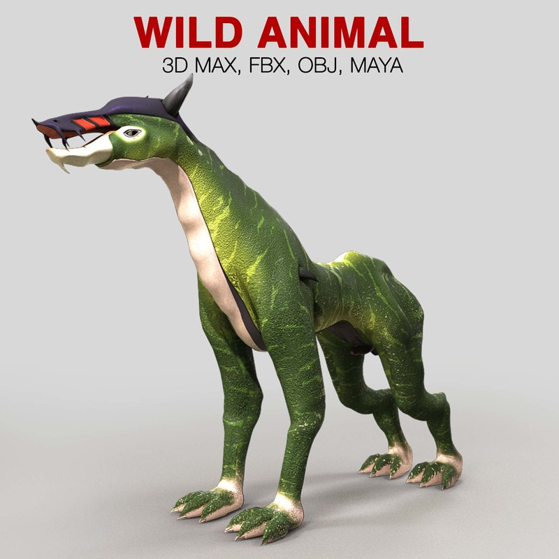 extra character 3D model