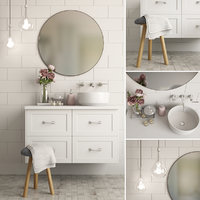 3D bathroom decor