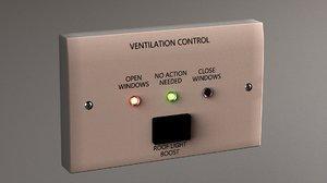 ventilation control unit model