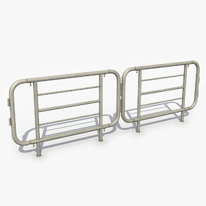 3D safety barrier