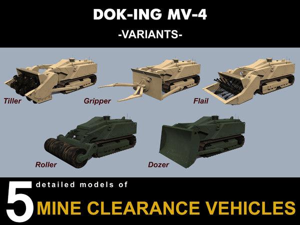 dok-ing mv-4 vehicles model