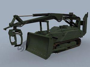 dok-ing mv-4 robot 3D