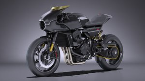 honda cb4 interceptor 3D model