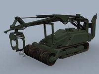 mv-4 dok-ing robotic vehicle 3D model