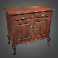Cabinet 02 (Antiques) - PBR Game Ready