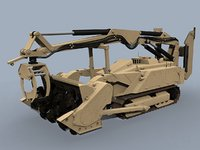mv-4 dok-ing robotic vehicle 3D model