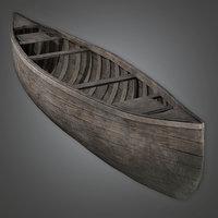 3D canoe ready pbr