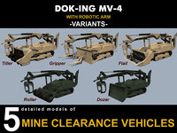 3D dok-ing mv-4 vehicles model