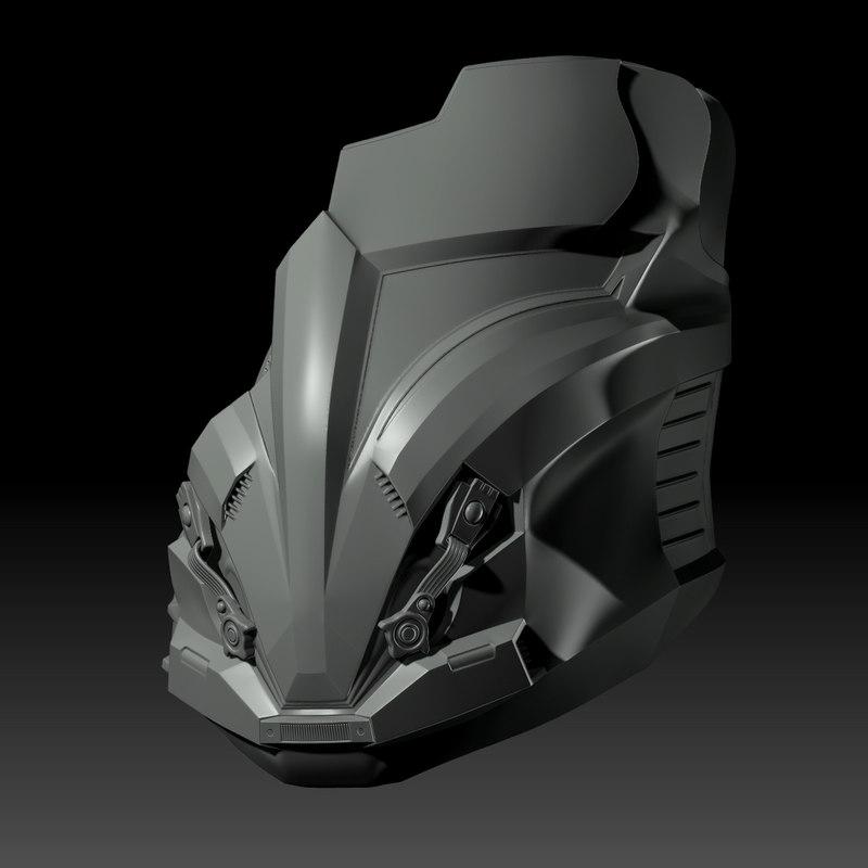 3D model arcann mask