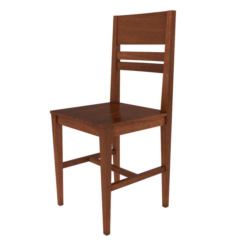 3D model chair architecture