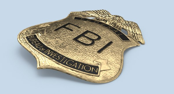 3d Fbi Badge Turbosquid 1287579 About 0% of these are badges, 0% are patches. fbi badge stem