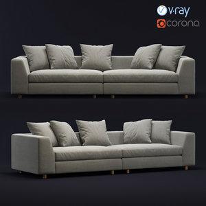 sofa design 3D model