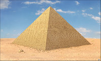 egypt egyptian pyramid 3D model