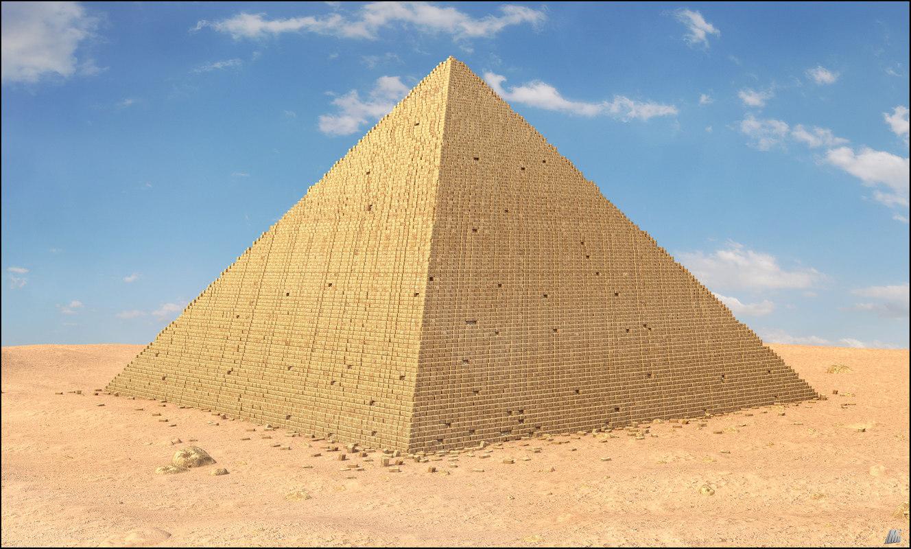 egypt egyptian pyramid 3D model