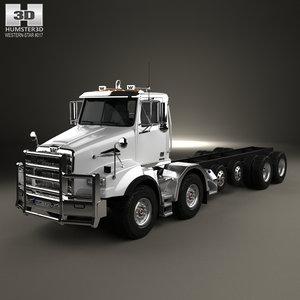 3D western star 4800 model