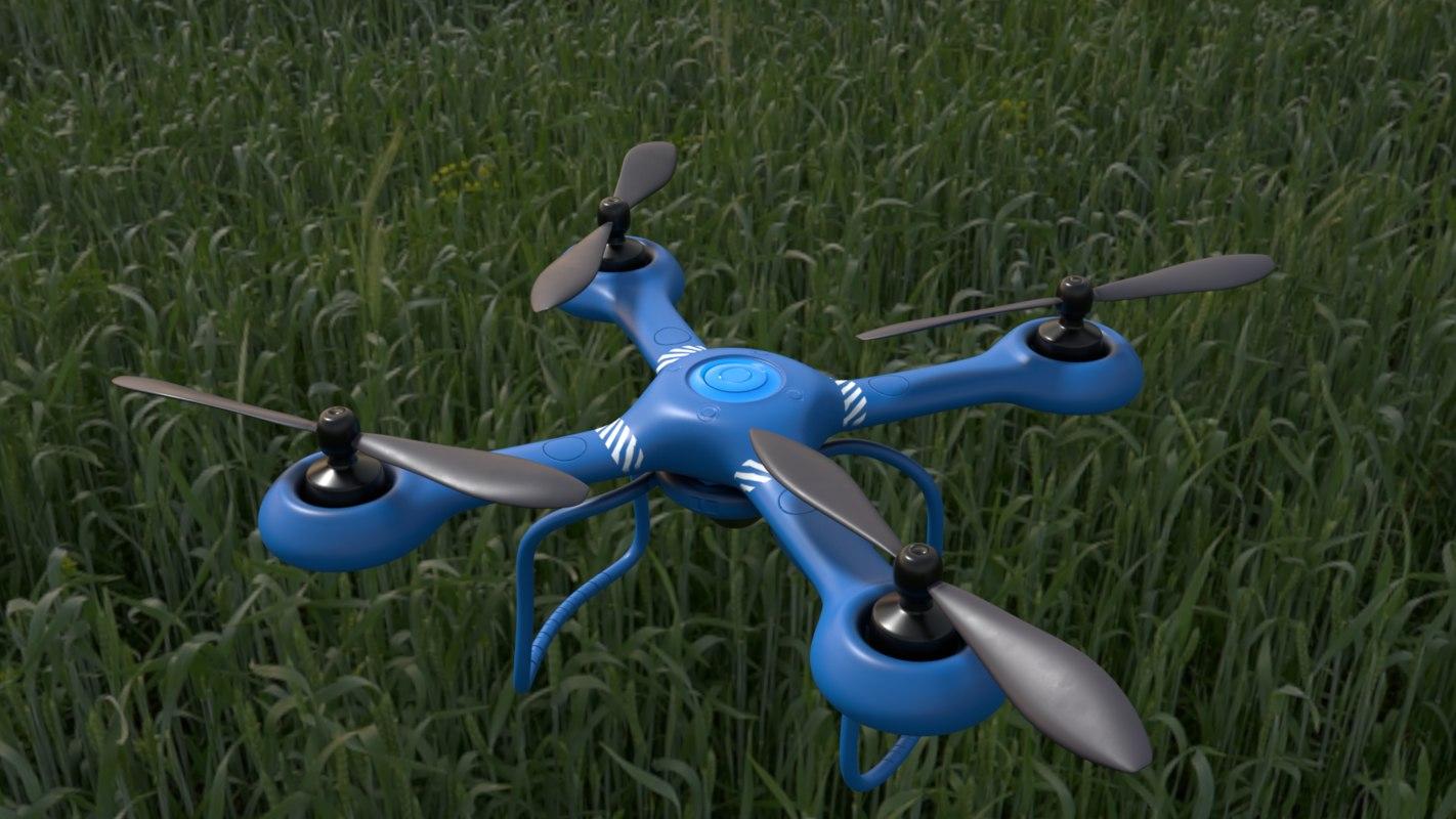 quadcopter quads 3D model