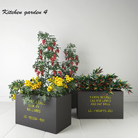 3D garden pepper pot