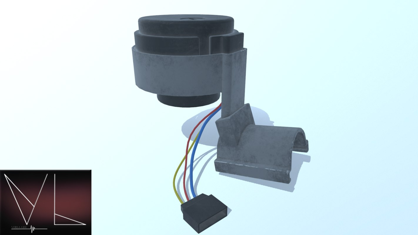 ignition switch 3D