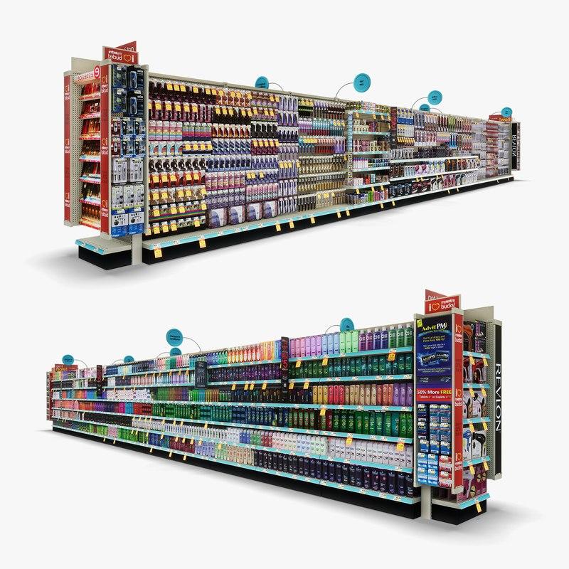 aisle 02 - 3D model