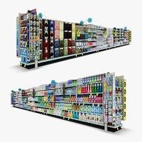 3D aisle 03 - model