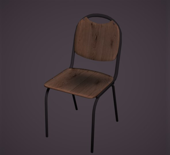 metal chair model