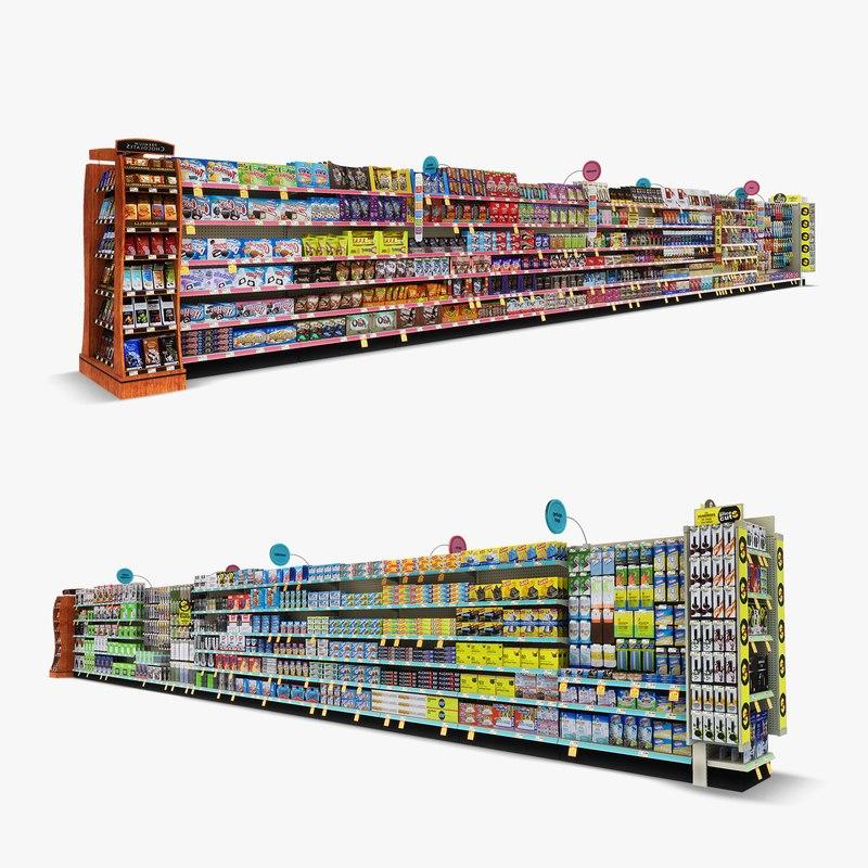 aisle 04 - 3D