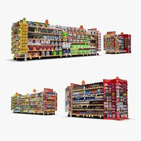 3D aisle 05 - model