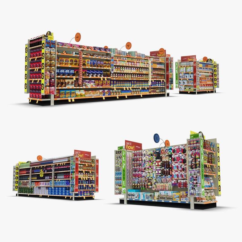 aisle 06 - 3D model