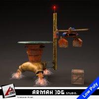 w69 gps 3D model