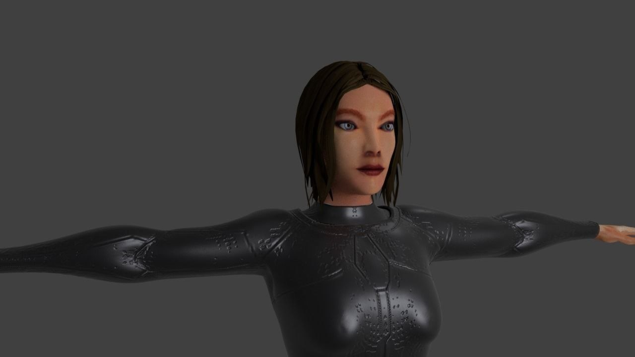 3D semjase games alien