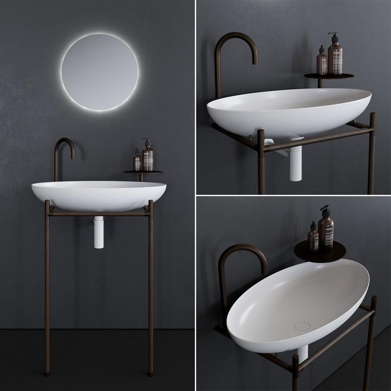monsieur washbasin 3D model