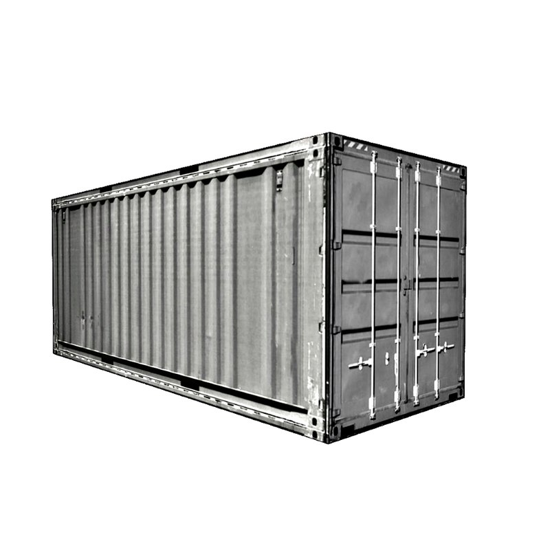 3D model container small