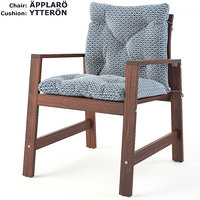 ikea applaro chair yterron 3D model