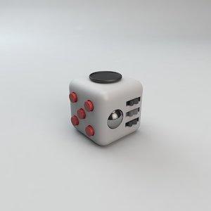 3D fidget cube