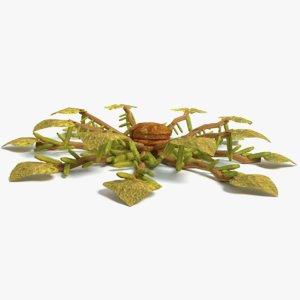 alien plant 3D