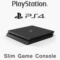 sony playstation 4 slim model
