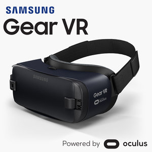 samsung gear vr sm-r323n 3D model