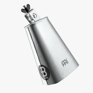 3D steel cowbell