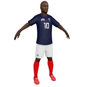 soccer player 2018 model
