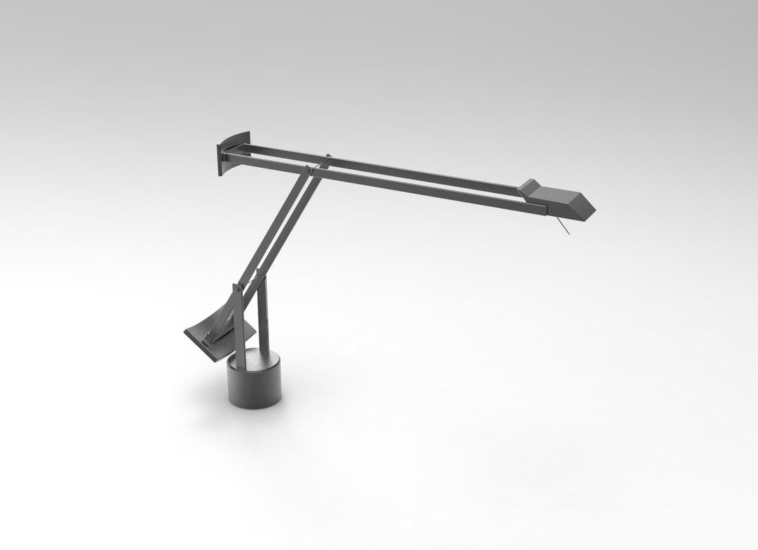 3D tizio lamp
