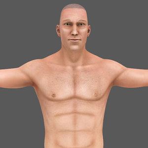 3D model body digestive