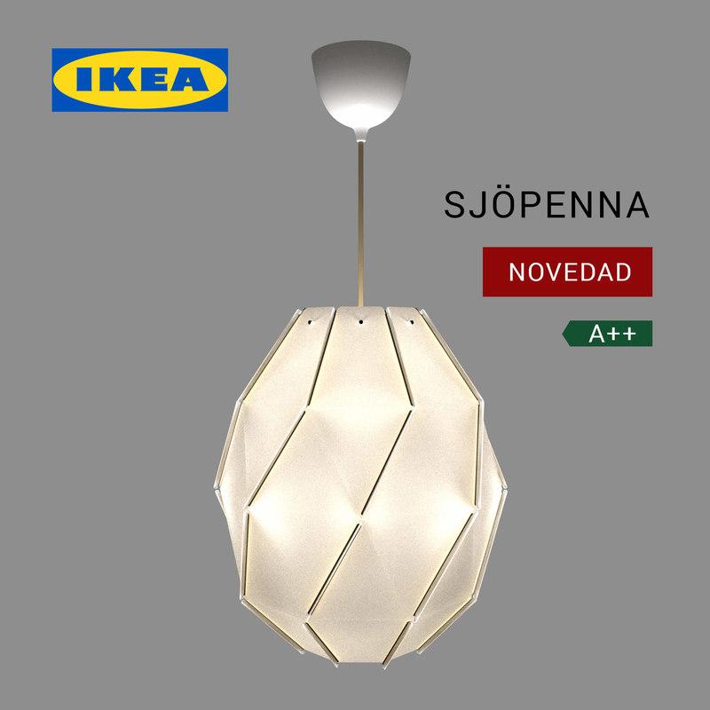 ikea lighting lamp 3D