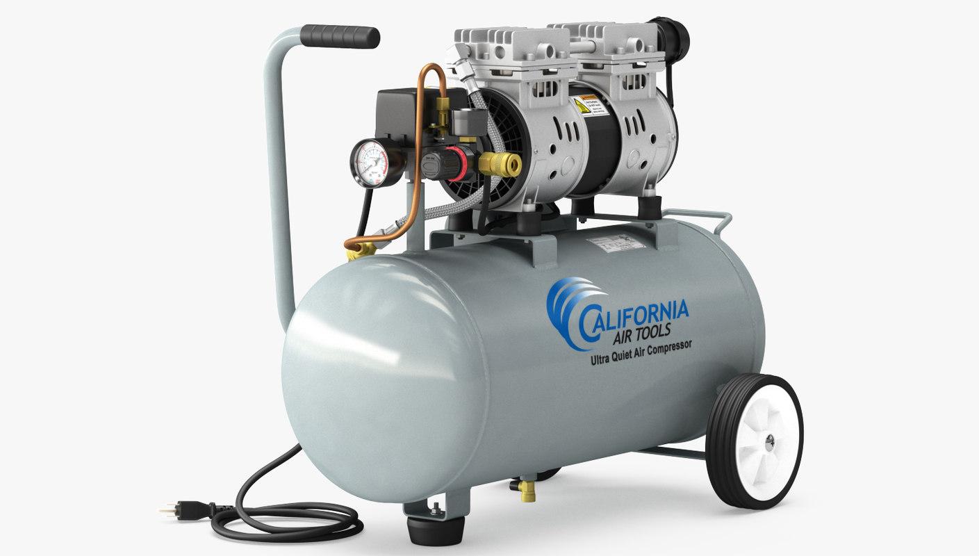 compressor california air 3D model