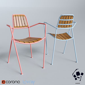 3D prostoria osmo chair