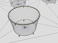 fishing net 2x4 2x6 3D model