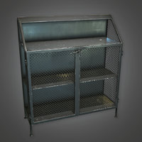 Metal Closet (Antiques) - PBR Game Ready