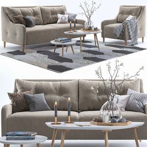 pohjanmaan jenson armchair sofa model
