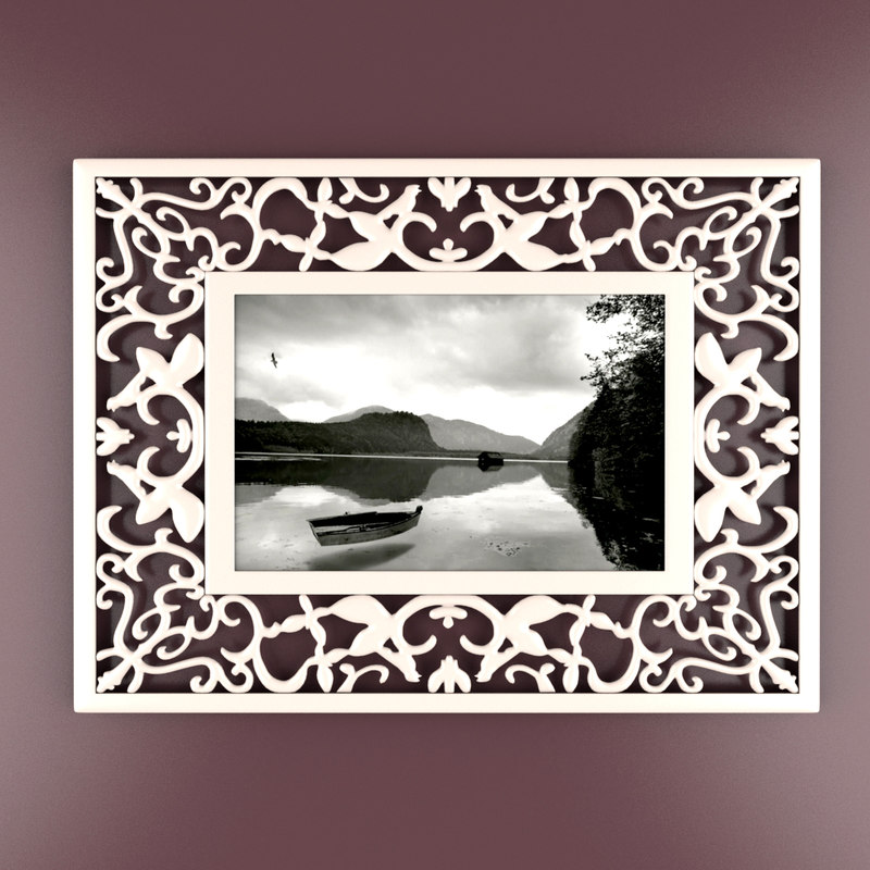 photo ikea frosakull frame 3D model