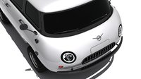 3D uaz-452 concept car model
